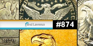 Highlights from David Lawrence Rare Coins Sunday Auction #874