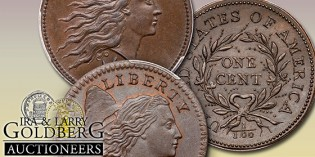 Highlights from the Tom Reynolds Large Cent Collection. VIDEO: 1:49.