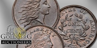 Goldbergs to Auction Tom Reynolds Large Cent Collection – VIDEO: 1:49