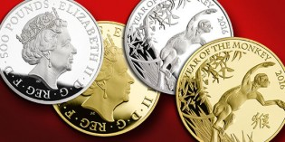 Royal Mint Continues Shēngxiào Collection with 2016 Year of the Monkey Gold Coin