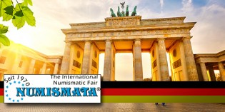 17th NUMISMATA Berlin 2015: Germany under the Banner of Numismatics