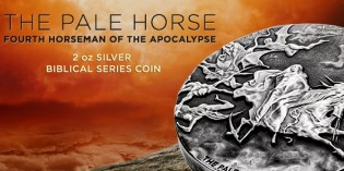APMEX Announces Exclusive Pale Horse of the Apocalypse Silver Coin