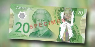 Bank of Canada Issues $20 Queen Elizabeth II Commemorative Bank Note