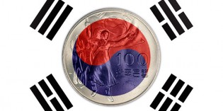 South Korea: The 30th Anniversary of Liberation 100 Won Commemorative Coin, Pt. 1