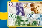 Exchange Money for New 200 Krona Banknote at Riksbank Oct. 1
