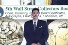 Coin Designer Joel Iskowitz at 5th Annual Wall Street Collectors Bourse