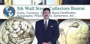 5th Annual Wall Street Collectors Bourse – October 22-24