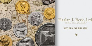 Last Chance to Bid in Harlan J. Berk's Ancient and World Coin Auction 195