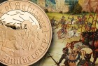 Royal Mint Launches 600th Anniversary Battle of Agincourt 2015 Alderney £5 Coin
