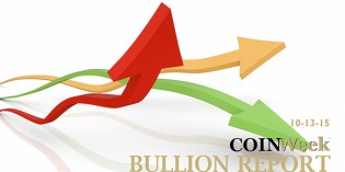 CoinWeek Bullion Report – October 13, 2015 – Video: 3:02