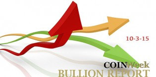 CoinWeek Bullion Report – October 3, 2015 – Video: 3:04