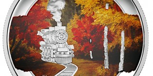 Canada 2015 Autumn Express $20 Silver Colorized Coin