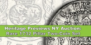 Pillar Coinage of 1732 to be Offered in Upcoming Heritage Sale – VIDEO: 4:55