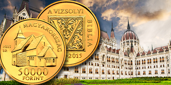 Bank Hungary  city images : Bank of Hungary Gold Coins Commemorate Hungarian Bible