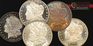 Legend Rare Coin's Regency Auction XIV: Nearly 200 Morgan Dollars + Coronet Collection Part II