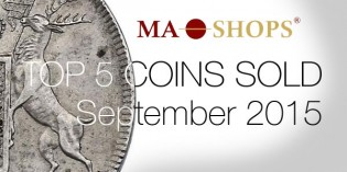 Top 5 Ancient and World Coins Sold on MA Shops, Oct. 12-18