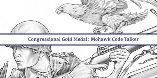 CCAC Releases Mohawk Code Talker Gold Medal Designs