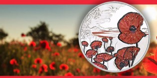Royal Mint Reveals Remembrance Day 2015 Alderney £5 Coin