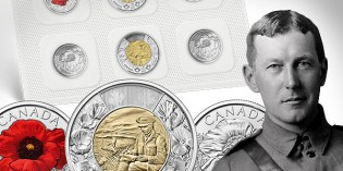Royal Canadian Mint Commemorates Remembrance Day with Two New Circulating Coins