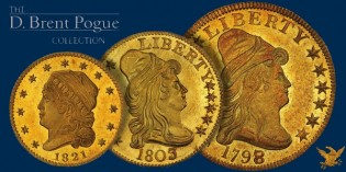 The Marvelous Pogue Family Coin Collection, Part 9 –  US Gold Coin Rarities Bring Strong Prices