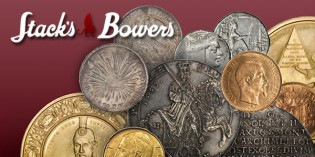 Stack's Bowers World Coin Offering for Whitman Baltimore Auction
