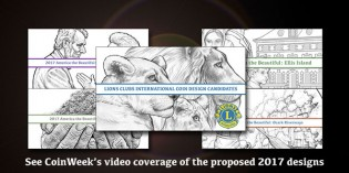 CoinWeek's Videos of the U.S. Mint's 2017 Coin Design Candidates
