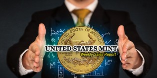 State of the Mint – U.S. Mint Numismatic Coin Sales as of Aug. 6, 2017