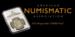 1921 Morgan Silver Dollar Authenticated as Zerbe Proof