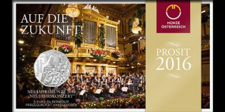 Austrian Mint to Issue New Year's 5 Euro Silver Coin in Concert with Vienna Philharmonic