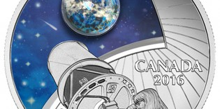 Canada 2016 The Universe: Glow-in-the-Dark $20 Proof Silver Coin