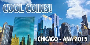 Cool Coins! Chicago ANA World's Fair of Money 2015 Edition. Video: 12:25