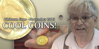 Cool Coins! Whitman Expo, November 2015. Video: 5:15