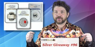 CoinWeek Silver Coin Giveaway 96 – How to Enter, What You Might Win – Video
