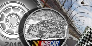Royal Canadian Mint Makes Racing History with First Silver Medallion Honouring NASCAR®