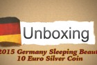 CoinWeek Unboxing: Germany 2015 Sleeping Beauty 10 Euro Silver Coin – 4K Video