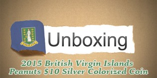 CoinWeek Unboxing: British Virgin Islands 2015 Peanuts 65th Anniversary $10 Silver Coin – Video: 2:42
