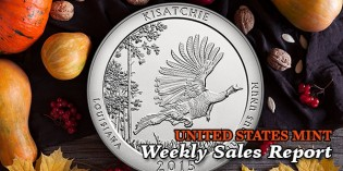 State of the Mint – U.S. Mint Coin Sales as of November 23, 2015