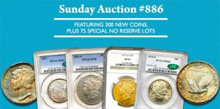 David Lawrence Rare Coins Internet Auction #886: Highlights