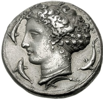 The work of the Greek Coin engraver Kimon