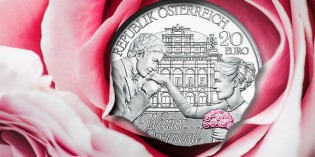 "Austrian Mint: Vienna Opera Ball ""Blushing in Pink"""