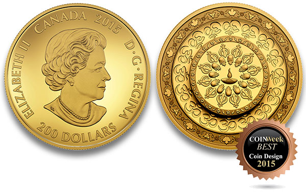 Diwali: Festival of Lights $200 Gold Coin - Royal Canadian Mint