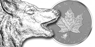 "Royal Canadian Mint Sells Out 1st ""Wild Canada"" Silver Maple Leaf Coin"