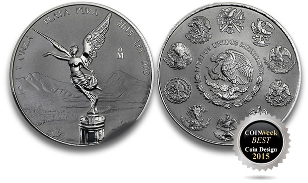 Libertad 1 Ounce Silver Coin - Reverse Proof - Mexican Mint