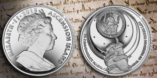 Dished Coin Celebrates 800th Anniversary Magna Carta