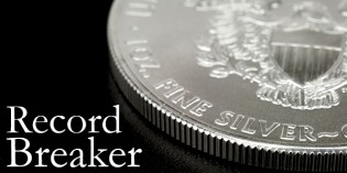 U.S. Mint: American Eagle Silver Bullion Coins Set New Record