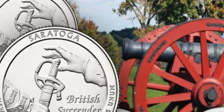 Saratoga National Historical Park Quarter 3-Coin Set Available Today