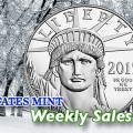 State of the Mint - U.S. Mint Coin Sales as of December 6, 2015