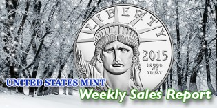 State of the Mint – U.S. Mint Coin Sales as of December 6, 2015