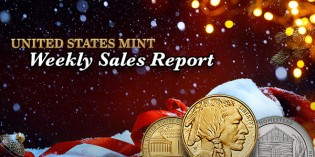 State of the Mint – U.S. Mint Coin Sales as of December 20, 2015