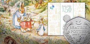 Beatrix Potter, the Bard and the Battle of Hastings: Royal Mint Reveals 2016 Coin Themes